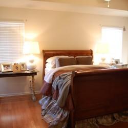fabricless master bedroom