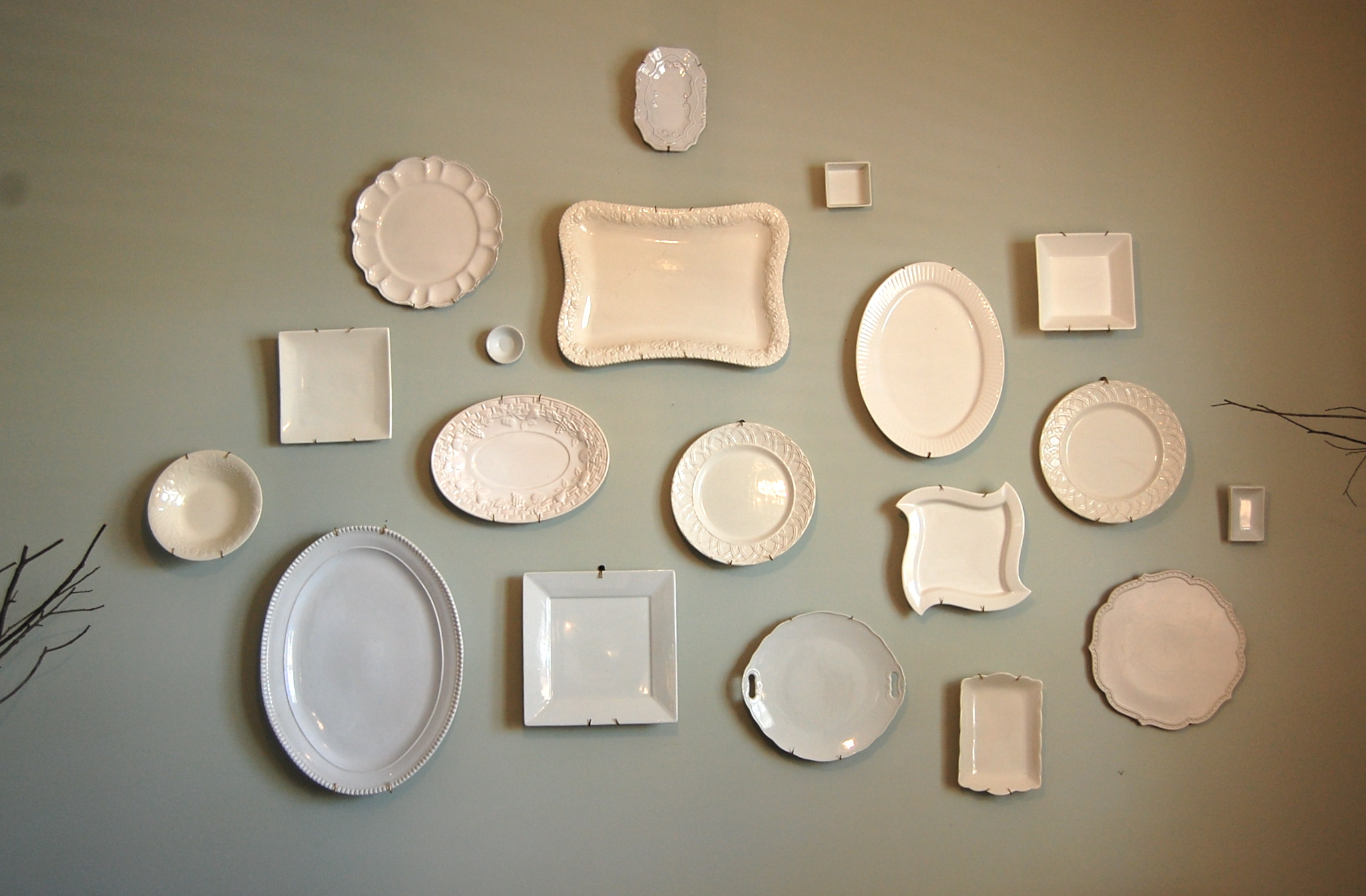 & How to Hang Plates on Your Wall