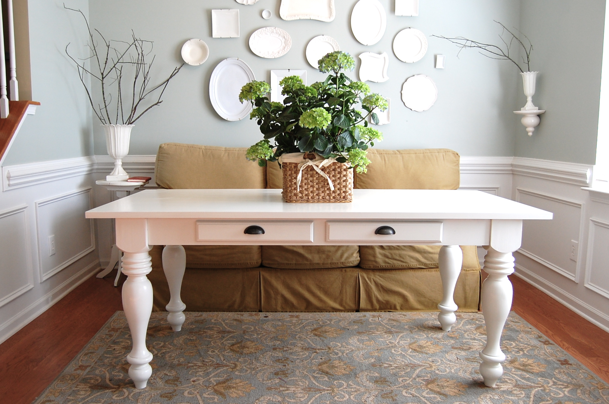50  Inspired White Farmhouse Table
