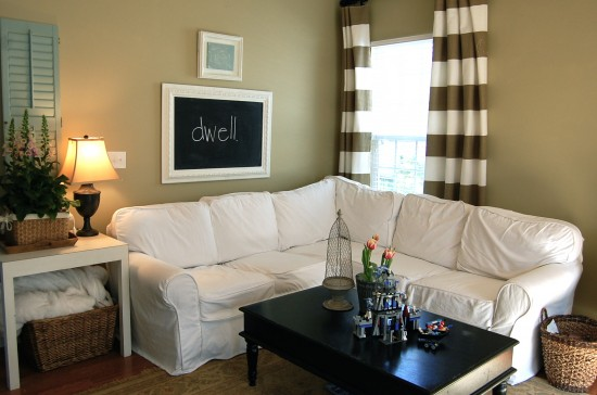 Drape ... : slipcovered sectional - Sectionals, Sofas & Couches