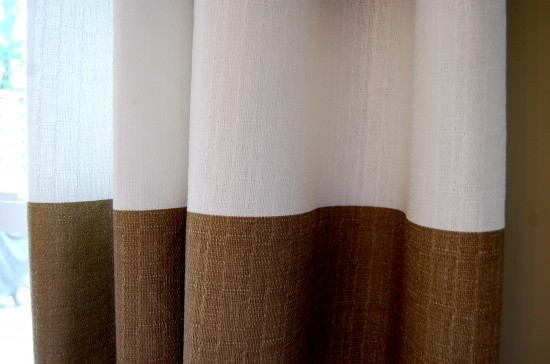Curtains Ideas brown white striped curtains : Stripes Curtains - Rooms