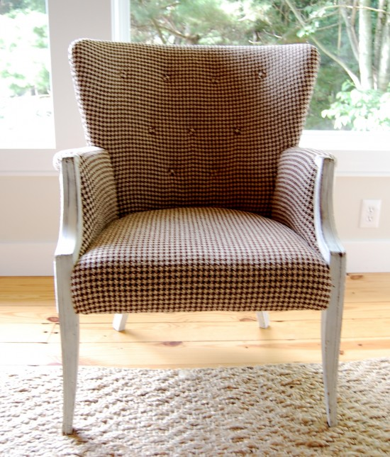 Fabulous  absolute best reason for doing it custom uyou get exactly what you want and a totally unique piece Don ut you think that every room needs one loner chair