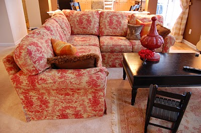 I Wanted To Post Photos Of My Dear Sofa Cannot Believe Never Have Family Members Tease Me About This Dad Knows What Toile Is Because