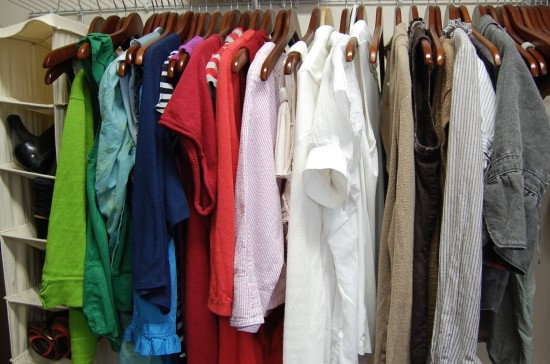 Charmant I Rainbowize My Clothes. Color Coordinated Clothes Make Your Closet Look  Organized And Help You Find What You Need.
