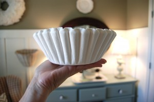coffee filters white