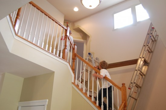 how to make stairs look good with paint