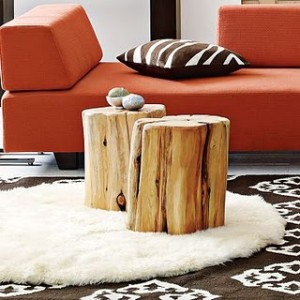 Natural+Tree-Stump+Side+Table+-+$199.00