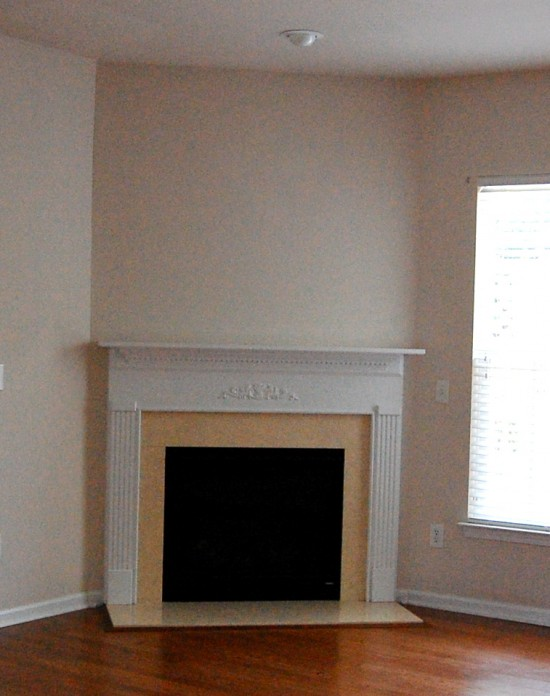 Corner fireplace designs with tv for Corner fireplace plans