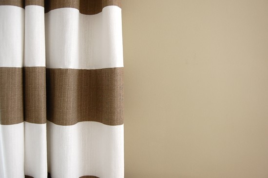 my striped drapes