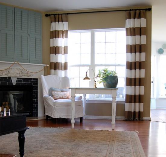 Curtains Horizontal Stripes - Best Curtains 2017
