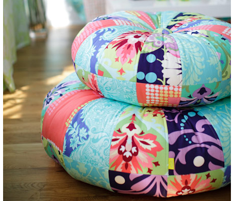 Moroccan Poufs Pouffes And Poofs Extraordinary Amy Butler Pouf Ottoman