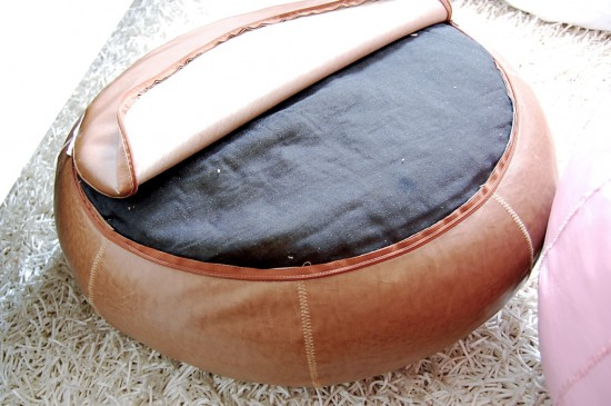Moroccan Poufs Pouffes And Poofs Cool How To Stuff A Moroccan Pouf