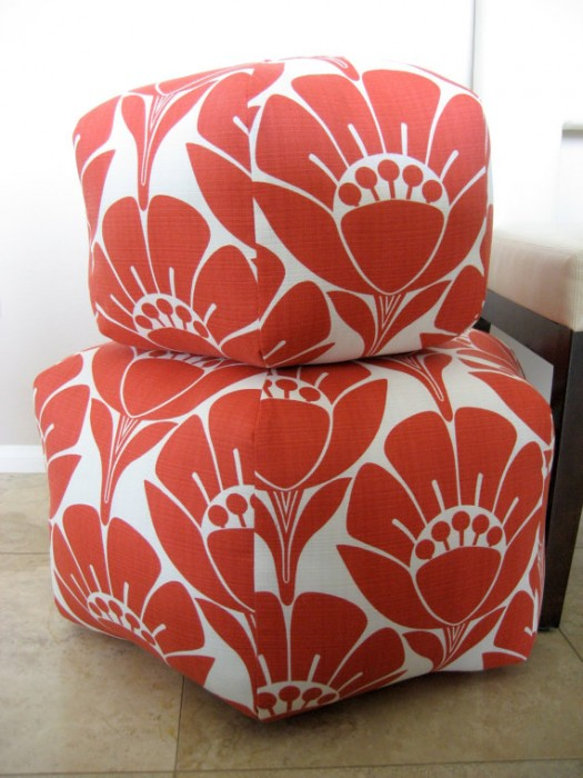 Moroccan Poufs Pouffes And Poofs Mesmerizing Amy Butler Pouf Ottoman