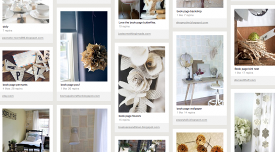 Pages list styles of decor