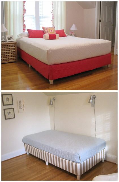 smart box spring cover. Black Bedroom Furniture Sets. Home Design Ideas