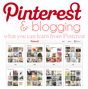 Pinterest and Blogging