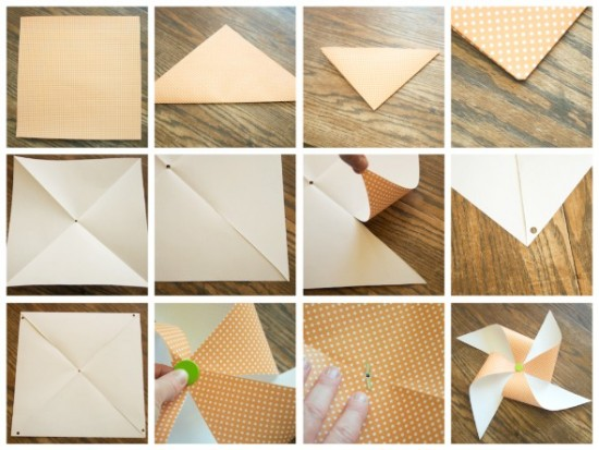 how to make your own pinwheel