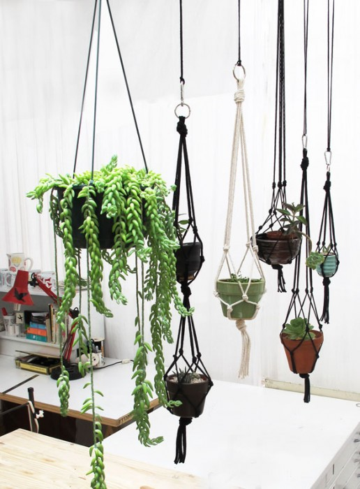 How to Make a Hanging ... - Using Plants In Your Home Part 3 :: Planters Indoors And Out