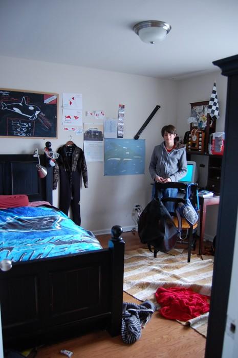 Teen boy room makeover