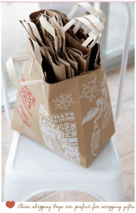 How To Make A Book Cover With A Trader Joe S Bag : Simple papers found embellishments