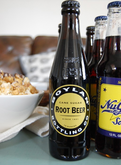 Root beer simulation