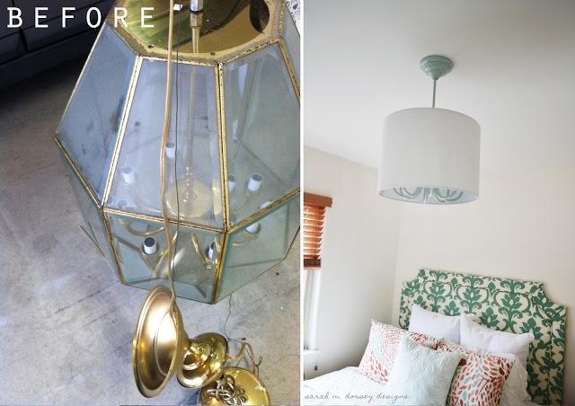 chandelier drum shade