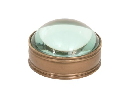desk-top-magnifying-glass-paperweight-antique-brass-finish