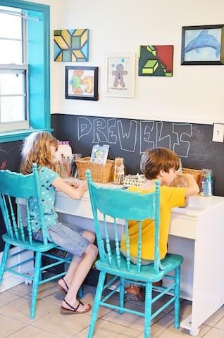 kids desk happy home