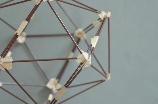 diy faceted shape