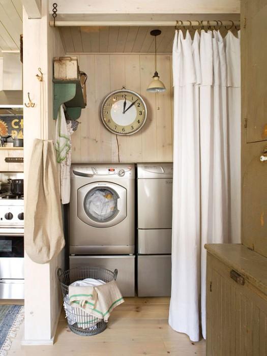 laundry room door idea