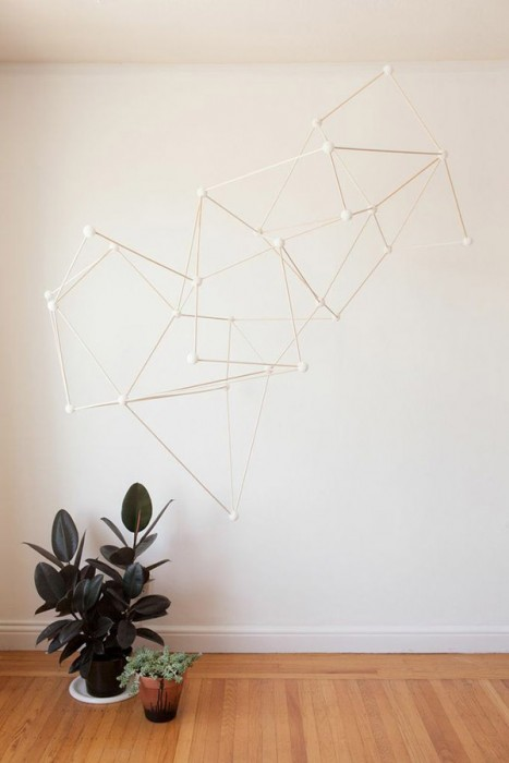 Diy polyhedra and friends for Arland decoration