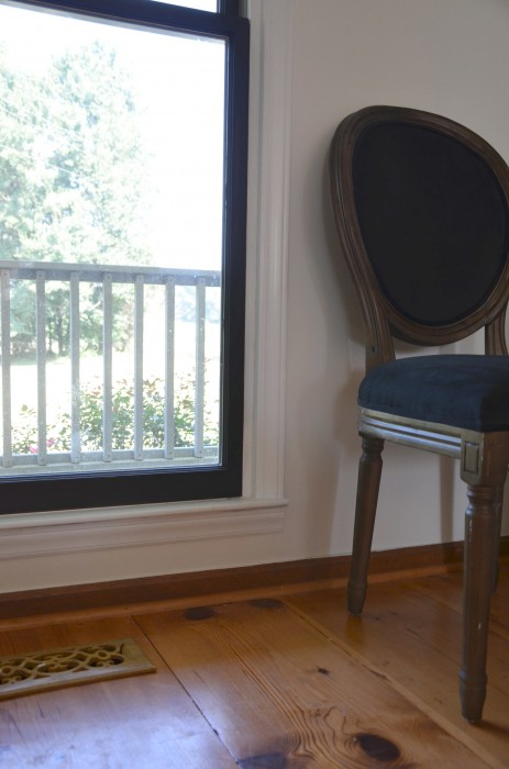 black window frames DIY