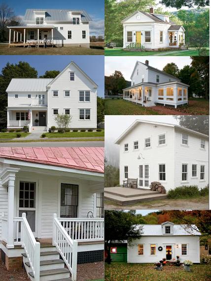 white house, no shutters