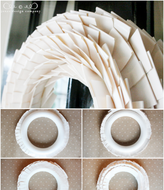 jones designs duct tape wreath