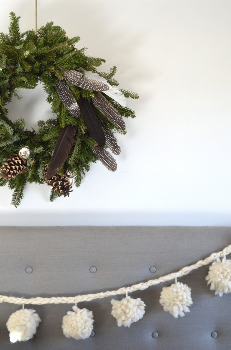 natural Christmas decor in 5 minutes