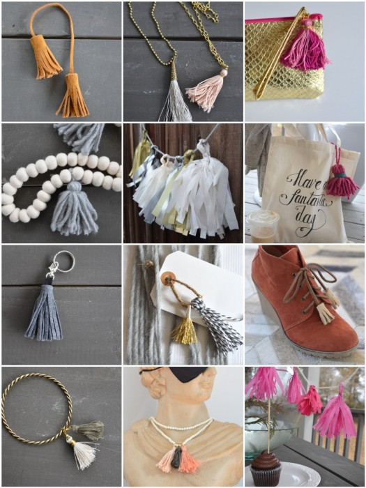 how to make tassels DIY