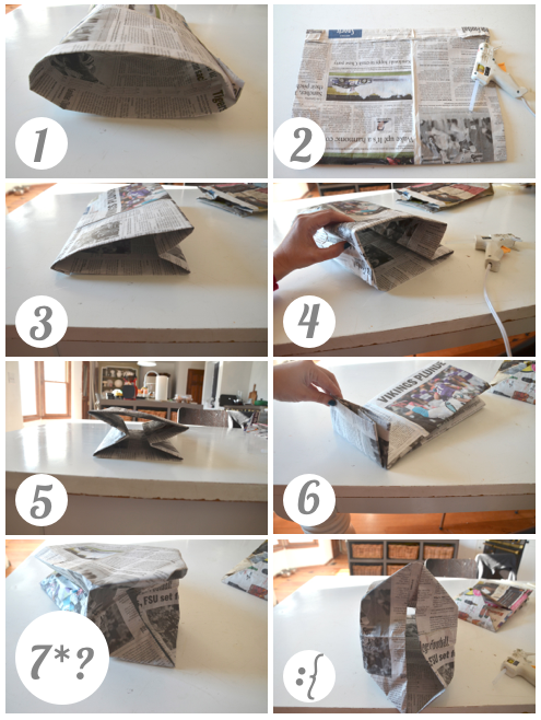 How To Make Paper Handbags At Home