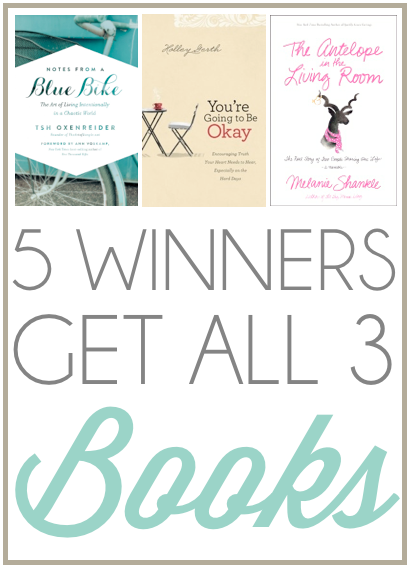win these books!