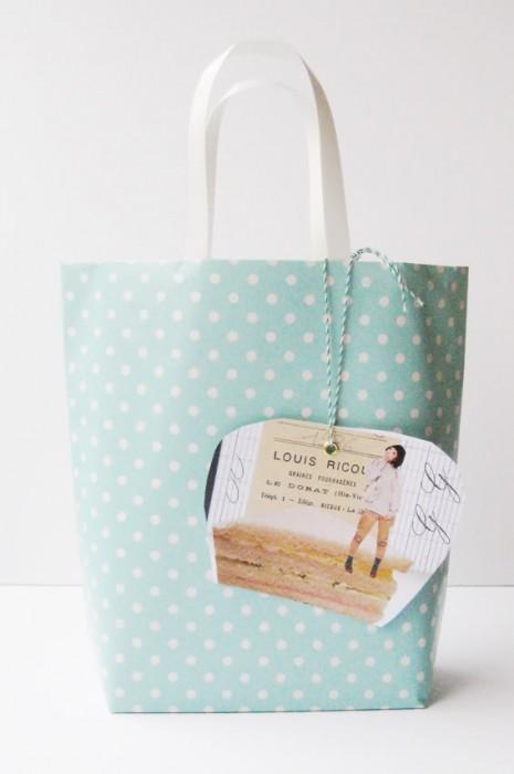 diy paper giftbag