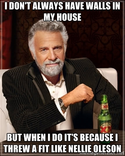 i don't always have walls