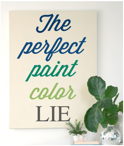 the perfect paint color lie