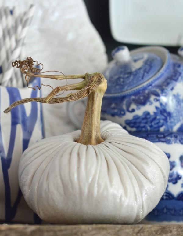 linen pumpkin