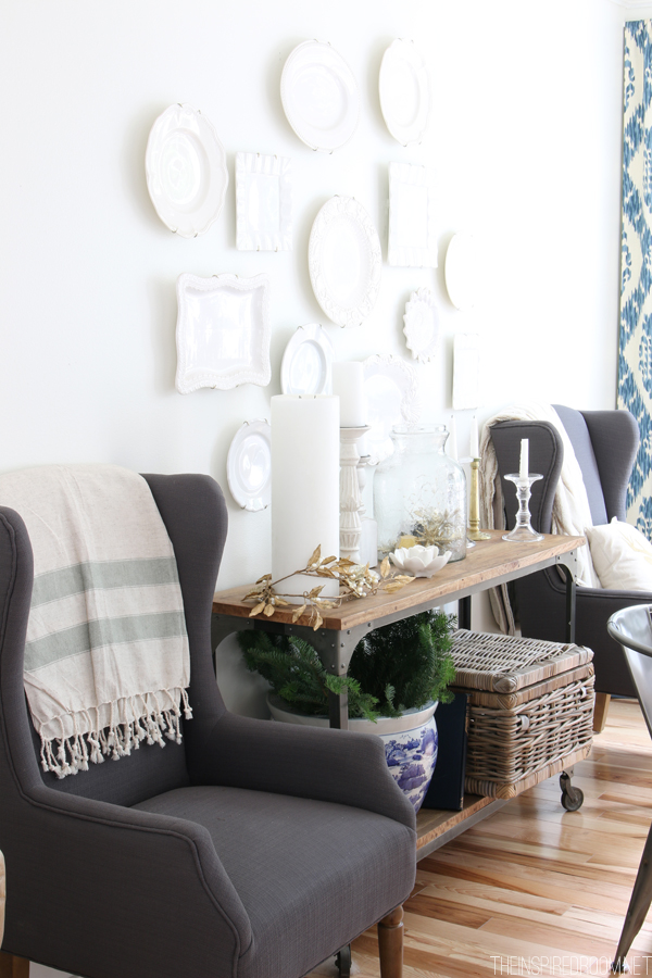 Gray-Wingback-Chairs-White-Dining-Room-The-Inspired-Room-Simple-Christmas-House-Tour