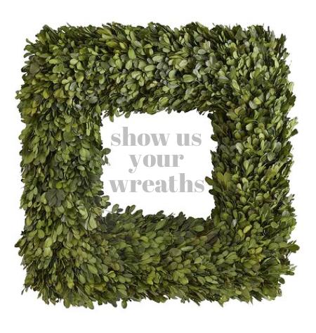 wreath linky