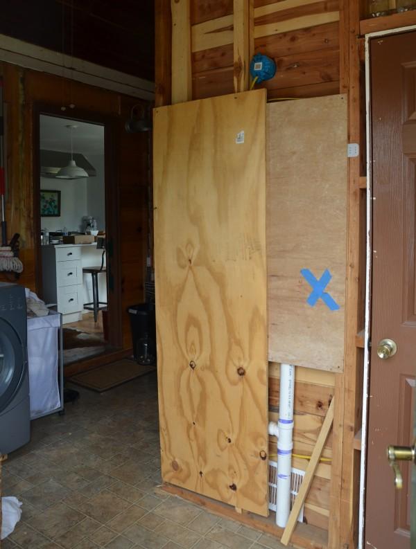 cardboard walls
