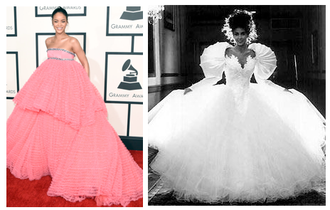 big bottom dresses
