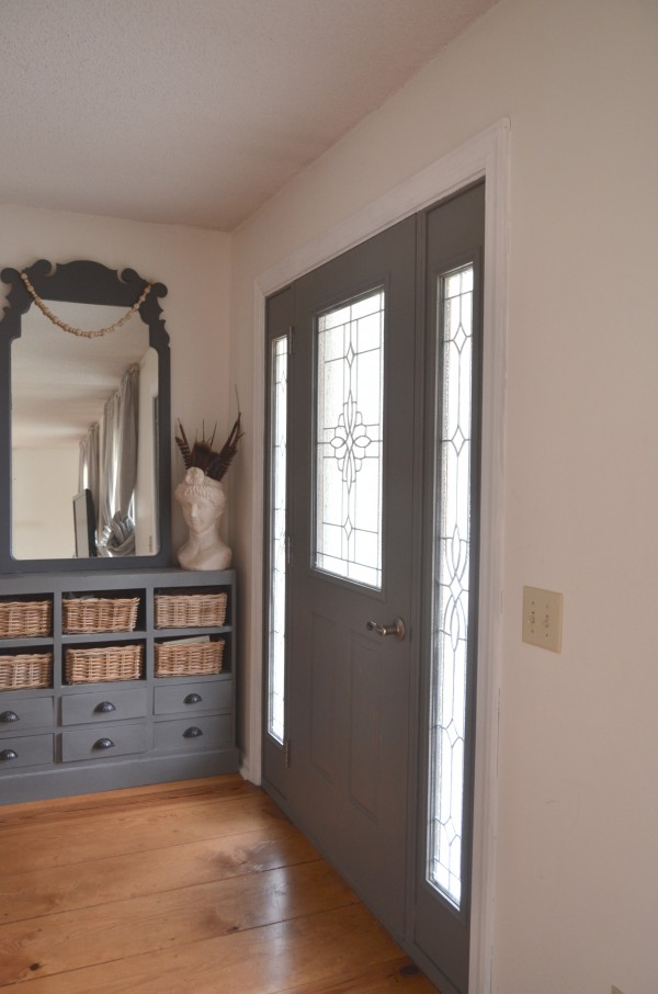 Paint the inside of a door today honest words about paint colors - Exterior door paint color ideas property ...