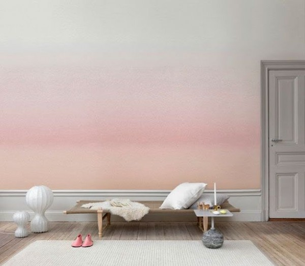 ombre wall
