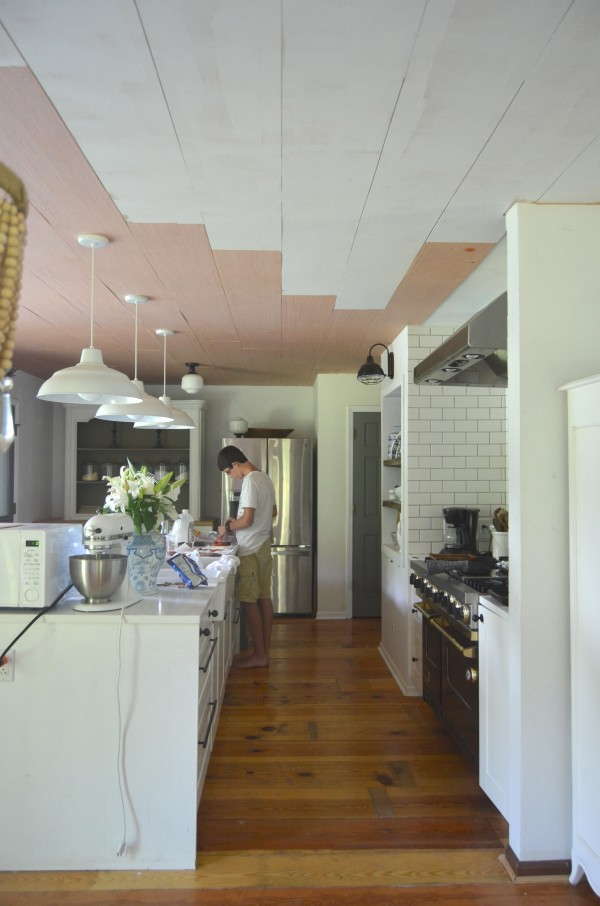 how to plank ceilings
