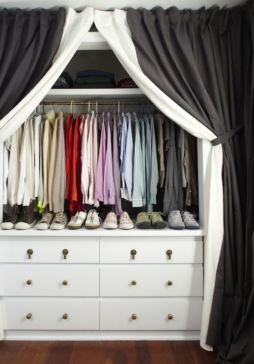 drape the closet